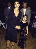 Actress Demi Moore and Daughter, Rumer at Bloomingdales Premium Photographic Print by Mirek Towski