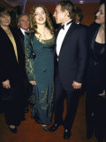 Actress Kate Winslet and Director Jim Threapleton at Academy Awards Premium Photographic Print by Mirek Towski