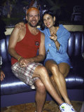 Married Actors Bruce Willis and Demi Moore Premium Photographic Print