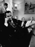 Minority Leader Lyndon B. Johnson on the Telephone Premium Photographic Print
