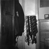 Blazer and School Ties Hanging in Room of a Merten College Student at Oxford University Photographic Print