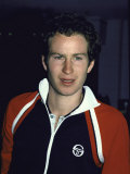 Professional Tennis Player John Mcenroe Premium Photographic Print by Ann Clifford