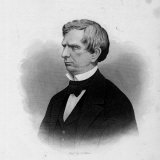 Engraving of William Seward, American Statesman and Secretary of State under President Lincoln Photographic Print