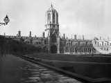 Exterior of College Buildings at Oxford University Photographic Print
