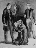 Adventures of Sherlock Holmes in the Strand Magazine, The Blue Carbuncle Photographic Print