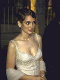 Actress Winona Ryder at the Academy Awards Premium Photographic Print by Mirek Towski