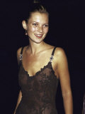 Model Kate Moss at the Michael Awards Premium Photographic Print by Dave Allocca