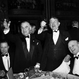 Politicians Attending the Jackson Day Dinner Photographic Print by Peter Stackpole
