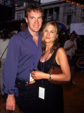 Dating Actors Tate Donovan and Jennifer Aniston Premium Photographic Print by Dave Allocca