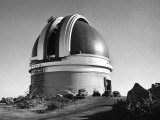 Exterior of the Mount Palomar Dome Premium Photographic Print