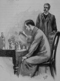 Adventures of Sherlock Holmes in the Strand Magazine, The Adventure of the Naval Treaty Premium Photographic Print