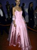 Actress Gwyneth Paltrow Wearing Pink Ralph Lauren Gown at Academy Awards Premium Photographic Print by Mirek Towski