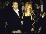 Musician Bruce Springsteen and Wife, Singer Patti Scialfa Premium Photographic Print by David Mcgough