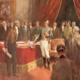 Abdication of Bernardo O&#39;Higgins, Supreme Dictator of Chile Photographic Print