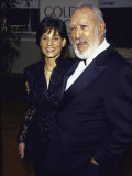 Actor Anthony Quinn and Wife Kathy at Golden Globe Awards Premium Photographic Print by Mirek Towski