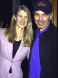 "Actors Laura Dern and Billy Bob Thornton at Film Premiere of ""The Apostle"" Premium Photographic Print by Dave Allocca"