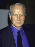 "Actor Paul Newman at Film Premiere of His ""Where the Money Is"" Premium Photographic Print by Dave Allocca"
