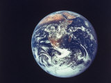 Earth from Aboard Apollo 17 Spacecraft Premium-Fotodruck