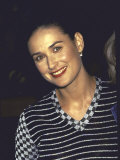 Actress Demi Moore at Planet Hollywood Opening Premium Photographic Print by Dave Allocca