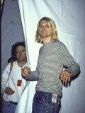 Front Man of Rock Group Nirvana Kurt Cobain Reproduction photographique sur papier de qualité