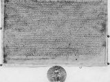 Magna Carta and Seal of King John Premium Photographic Print