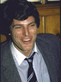 Actor Christopher Reeve Premium Photographic Print by David Mcgough