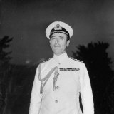 Lord Louis Mountbatten Visiting the Us Photographic Print