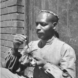 Zulu Witch Doctor Photographic Print by Bob Landry
