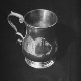 Pewter or Silver Mug from the American Colonial Period Photographic Print