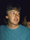 Singer Songwriter Paul Mccartney Premium Photographic Print by Ann Clifford