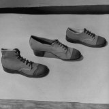 Shoes from a Story Concerning Dresses for Invasion Countries Photographic Print by Nina Leen