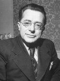 Palmiro Togliatti, Leader of Italian Communists Premium Photographic Print