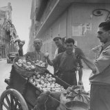 Lemon Vendors Photographic Print by J. R. Eyerman