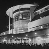 An Exterior View of the Jai-Alai in Manila Photographic Print by Carl Mydans