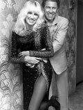 Actress Suzanne Somers and Husband, Manager Alan Hamel Premium Photographic Print by David Mcgough