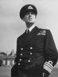Lord Louis Mountbatten in Uniform During WWII Premium Photographic Print