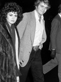 Singer Marie Osmond and Actor John Schneider Arriving at Funeral for Acting Teacher Lee Strasberg Premium Photographic Print by David Mcgough