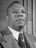 Portrait of A. Philip Randolph, the Head of Brotherhood of Sleeping Car Porters Premium Photographic Print