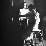 Girl Getting an X-Ray at the Irvington Home for Rheumatic Fever Photographic Print by Hansel Mieth