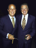 Revlon Ceo Ron Perelman and Television Personality Regis Philbin Premium Photographic Print by Dave Allocca