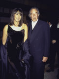 Married Fashion Designers Donna Karan and Stephan Weiss at Cfda Awards Premium Photographic Print by Dave Allocca