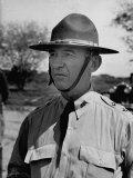 Major General Walter Krueger, Wearing Complete Uniform Premium Photographic Print