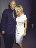 Manager Alan Hamel and Wife, Actress Suzanne Somers Premium Photographic Print by Mirek Towski