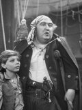 "Actors Peter Auramo and Francis L. Sullivan in TV Adaptation of ""Treasure Island"" Premium Photographic Print by Alfred Eisenstaedt"