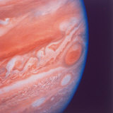 Jupiter&#39;s Great Red Spot During Late Jovian Afternoon, Photographed by Voyager 2 Spacecraft Photographic Print