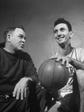 Re: Bob Cousy, Holy Cross Basketball Premium Photographic Print by Yale Joel