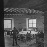 Adolf Hitler's Conference Room in His Mountain House Photographic Print