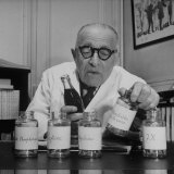 French Chemist, Analyzing the Ingredients of Coca-Cola Photographic Print