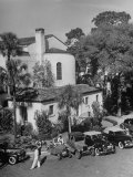 Campus of Rollins College Premium Photographic Print by Alfred Eisenstaedt