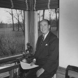 Adlai E. Stevenson His at Home Photographic Print